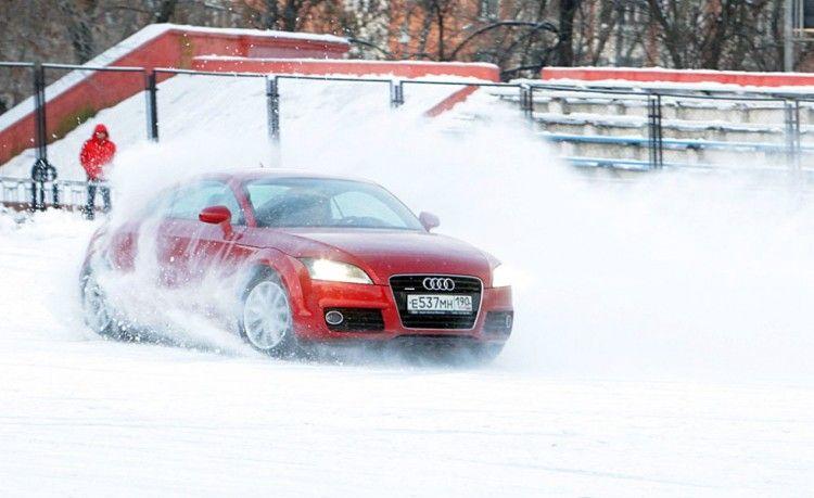Курсы экстремального вождения в клубе AUDI - отличный подарок на 23 февраля парню