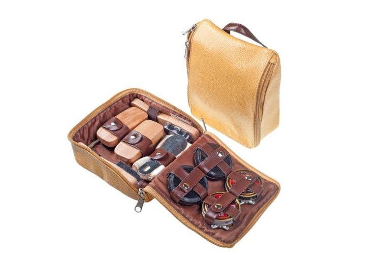 Обувной дорожный набор – отличный подарок для современно делового мужчины на 23 февраля