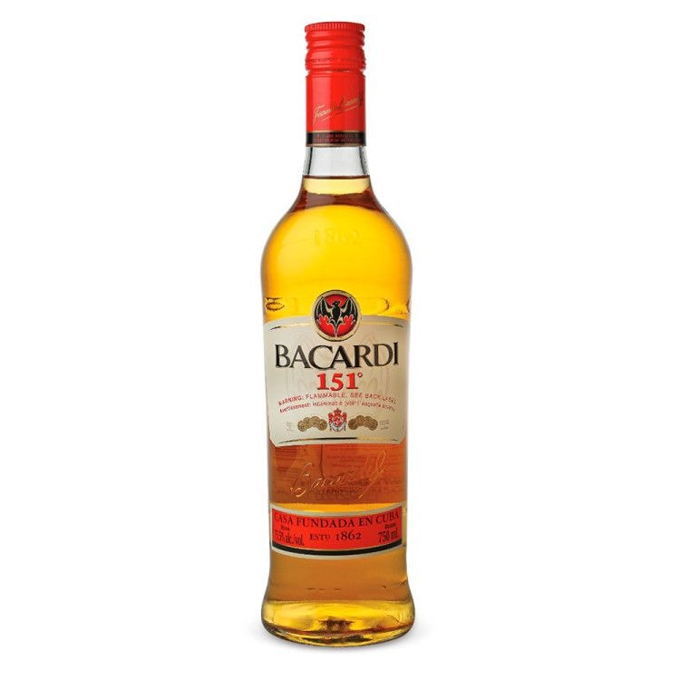 Эталонный ром Bacardi 151