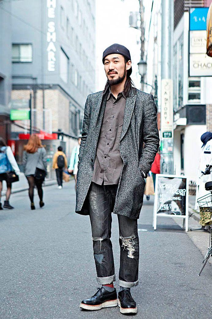 Мужская мода в Токио