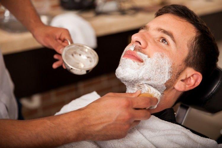 В барбершопах предпочитают мыло для бритья всем прочим средствам для бритья