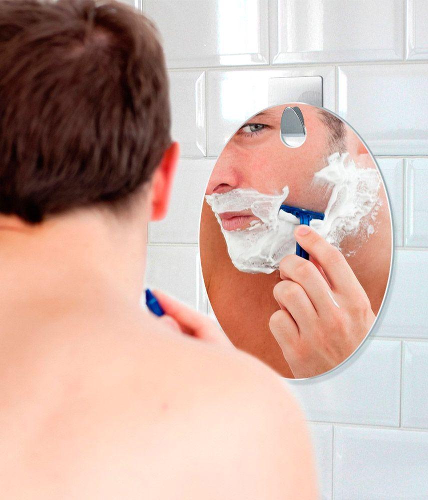 Незапотевающие зеркала из пластика для бритья удобны, но не долговечны