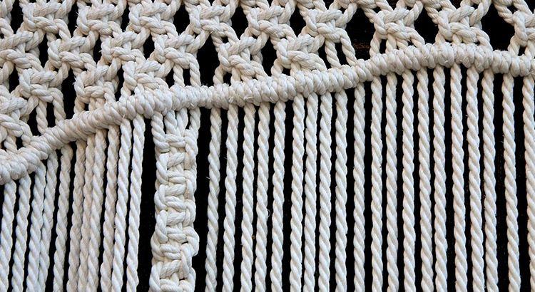 Ткань макраме