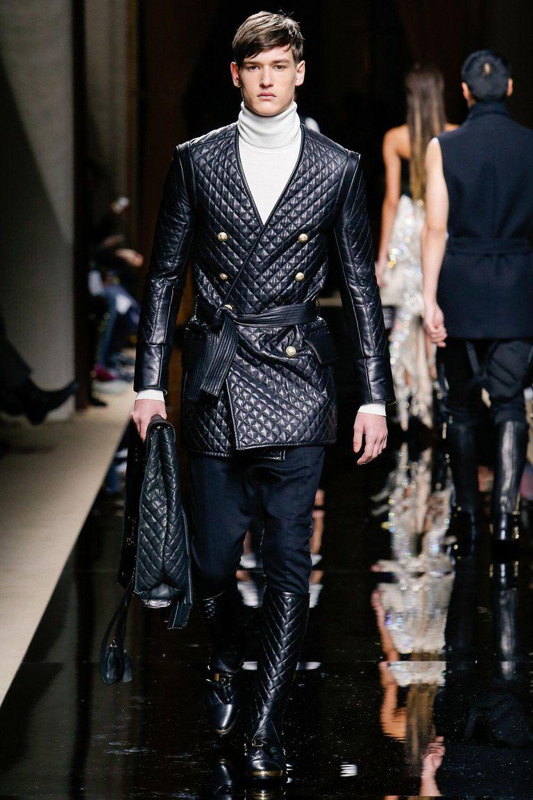 Мужская мода осень-зима 2016-2017 - высокая горловина водолазки или свитера