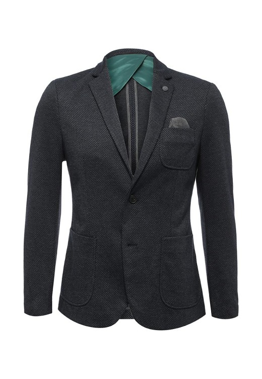 Пиджак Selected Homme из мягкого текстиля