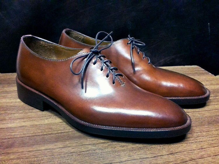 Seamless, или бесшовные оксфорды - самый дорогой, и элегантный вид мужских формальных туфель