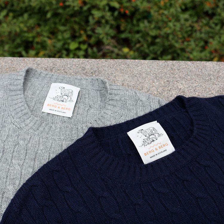 Свитеры из овечьей шерсти лучшего качества для бренда Berg&Berg изготавливают в Шотландии