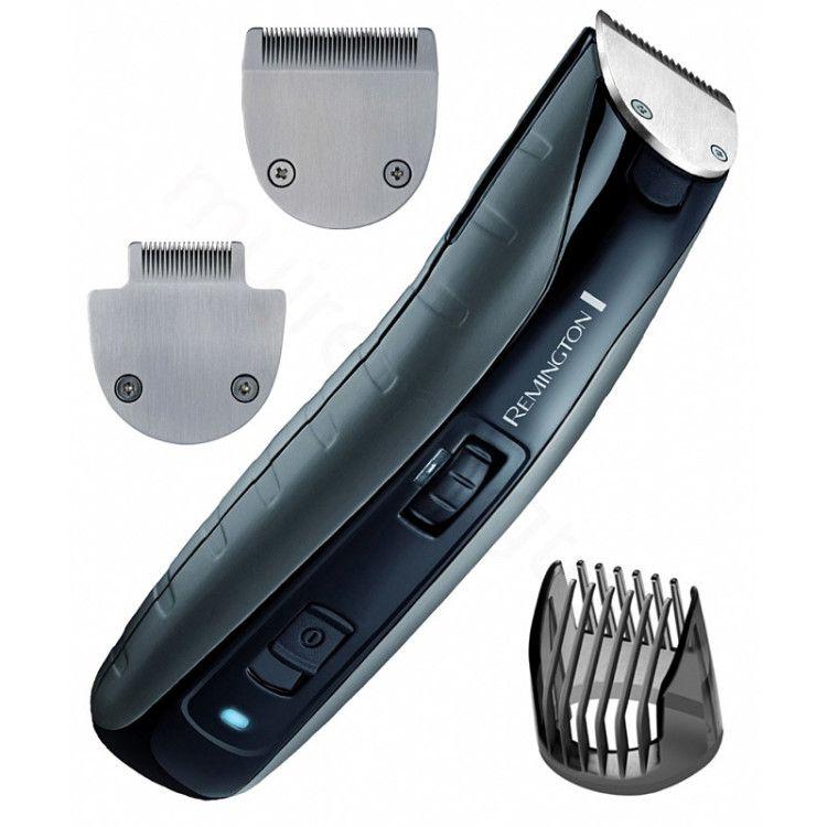Триммер для бороды марки Remington с различными насадками
