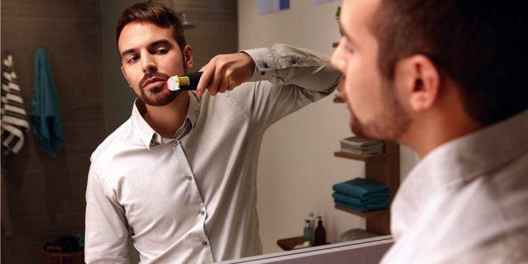 Триммер обеспечивает максимально комфортный и быстрый уход за бородой