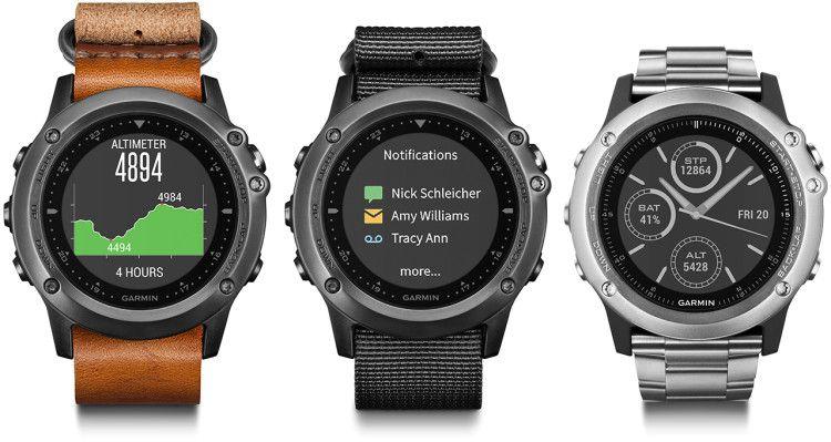 Часы Garmin Fenix 3 из-за своей многофункциональности считаются подходящей моделью для разных видов активного спорта