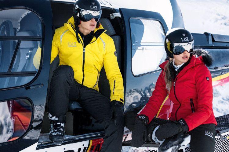 Одежда для активных мужчин и женщин от Armani - линейка EA7