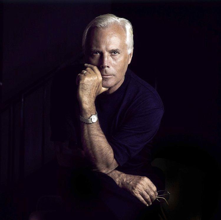 Отец итальянской моды, мастер деталей - сам Джорджо Армани