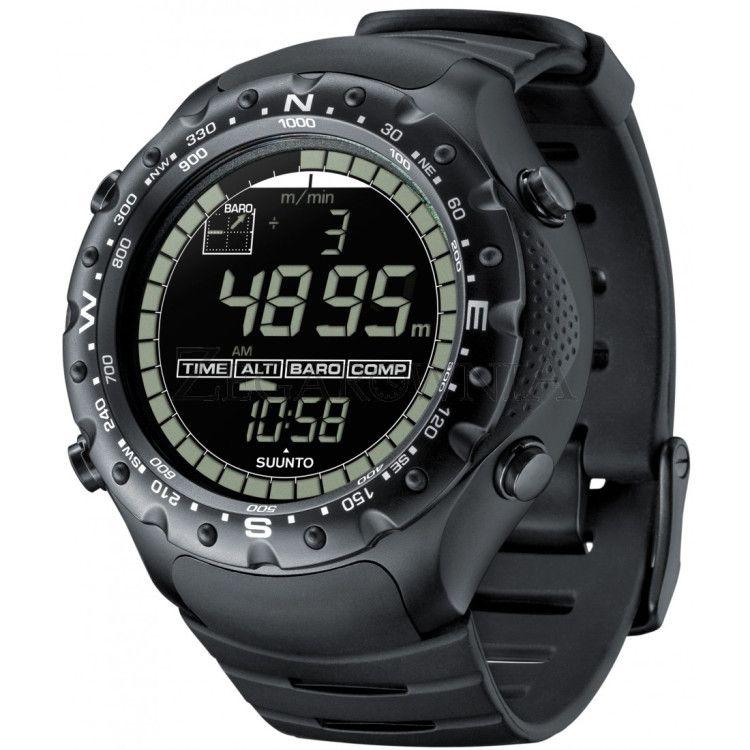 Suunto X-Lander Military Watch со встроенным высотомером, таймером, барометром даже из самой экстремальной ситуации поможет выйти победителем