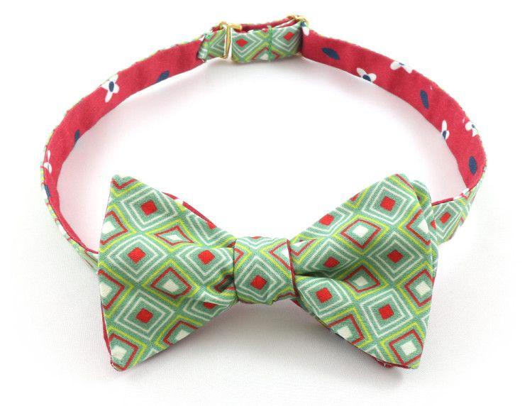 Яркий галстук-бабочка с колоритным принтом от бренда Baboon - с ним праздничное настроение всегда будет радовать вашего близкого мужчину