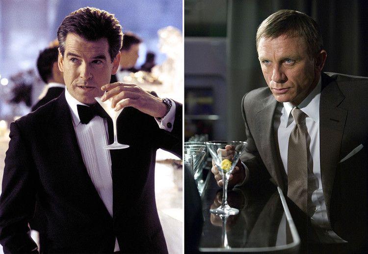 Знаменитый коктейль от легендарного агента Джеймса Бонда - мартини с водкой - смешать, но не взбалтывать