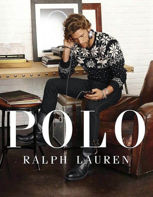 Свитер с оленями от Polo Ralph Lauren - стильное решение для любого мужчины
