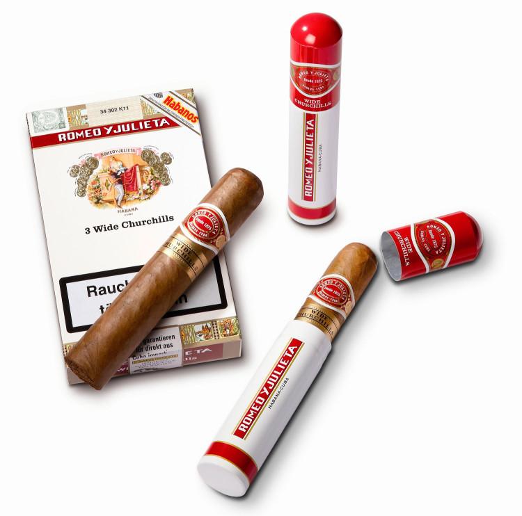 Кубинские сигары Romeo y Julieta упакованные в индивидуальную алюминиевую упаковку