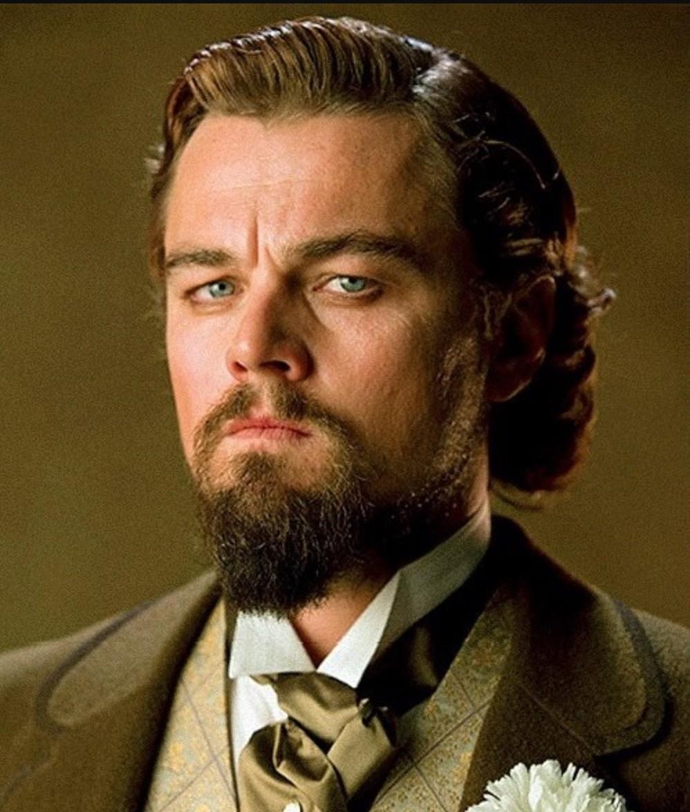 Леонардо ди Каприо идет форма бороды утиный хвост