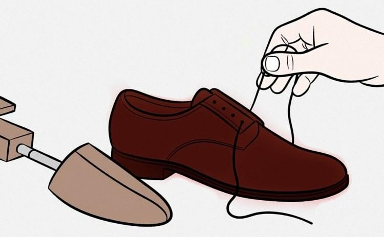 Новые шнурки освежат внешний вид обуви