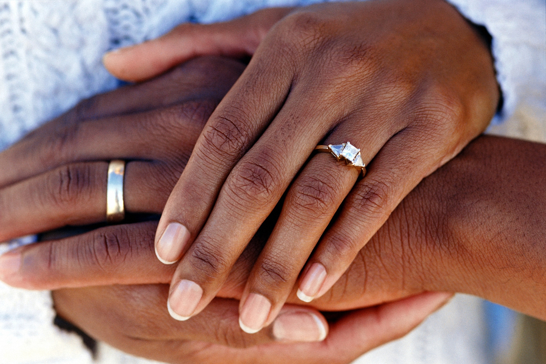 В одних культурах принято надевать обручальное кольцо на правую руку, в  других - на левую 0d9082d208b