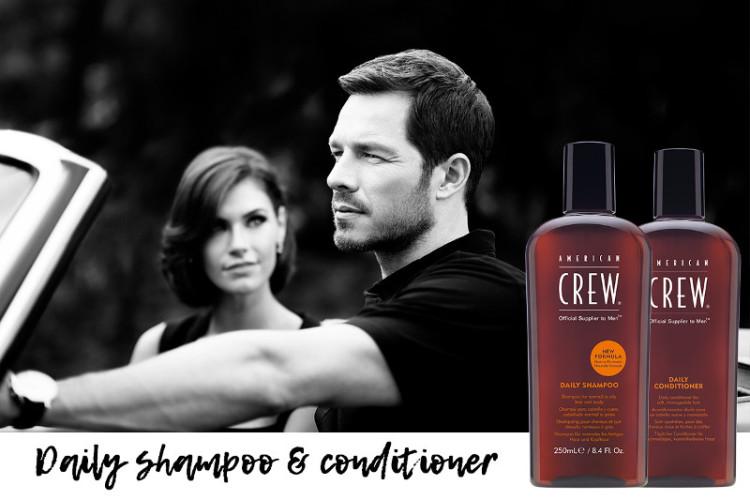 Во всех рекламных кампаниях American Crew используются стилизованные черно-белые фото