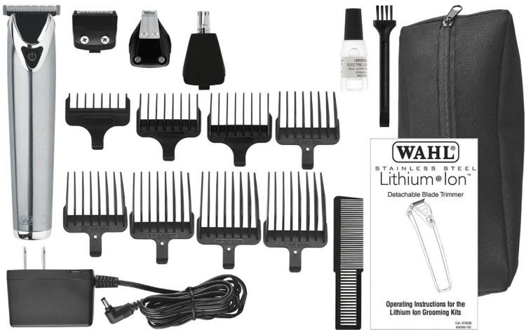 WAHL Stainless Steel Trimmer на литий-ионном аккумуляторе