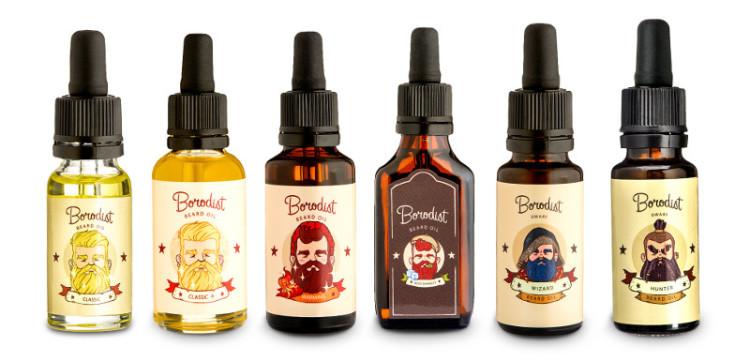 Самая популярная категория косметики Borodist - масло для бороды