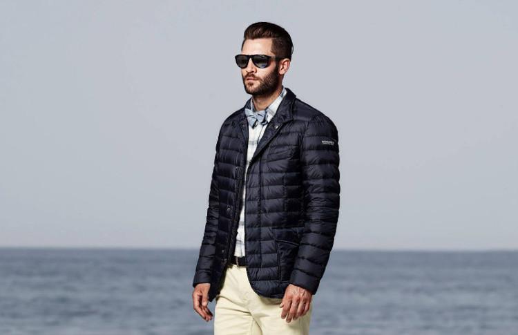 Некоторые осенние пуховики больше похожи на пиджак, чем на куртку