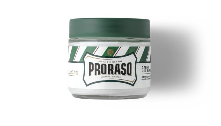 Крем до бритья из зеленой линии - один из хитов Proraso