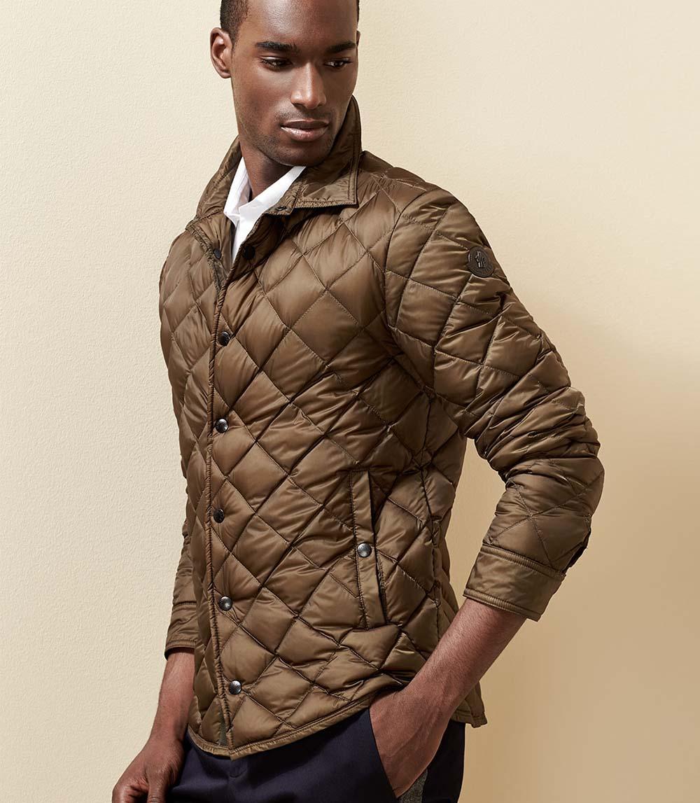 Slim-fit – классическая модель стеганой куртки родом из Туманного Альбиона