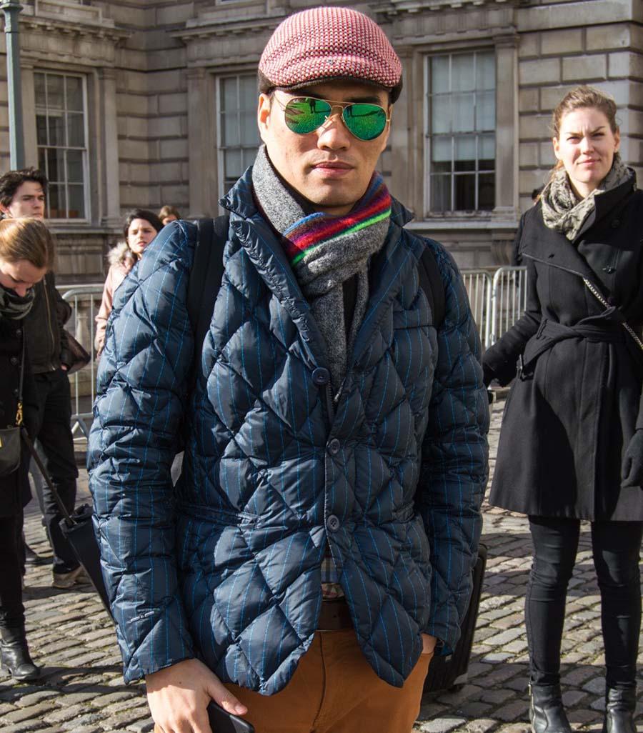 Стеганые куртки – изначально китайская разработка