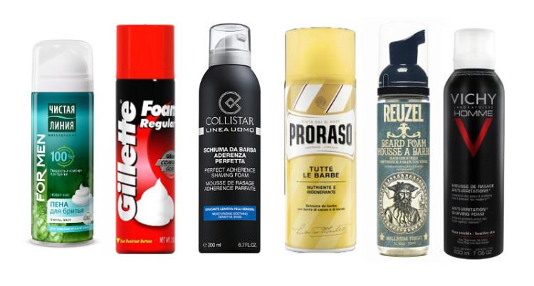 Пена для бритья - то средство, которое легко подобрать на любой вкус и кошелек