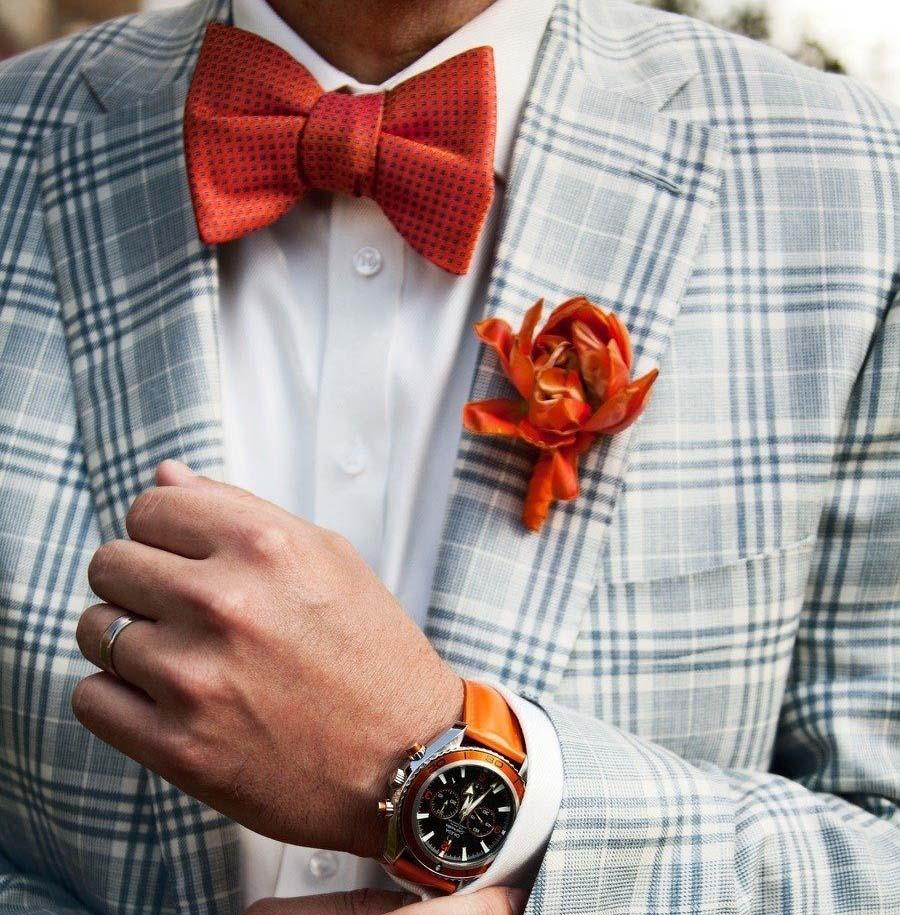 Наиболее распространенное применение оранжевого цвета – аксессуары