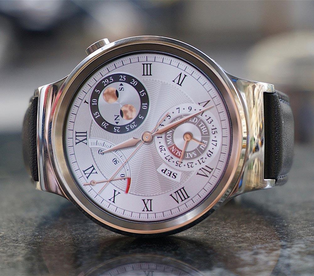 Умные часы с классическим циферблатом от Huawei