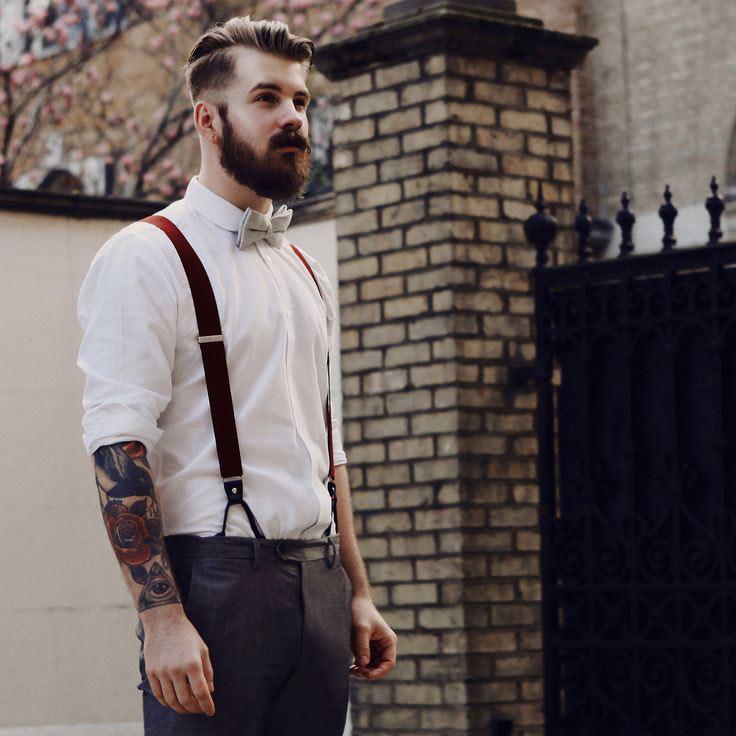 Самые простые рубашка и брюки могут полностью преобразиться за счет деталей