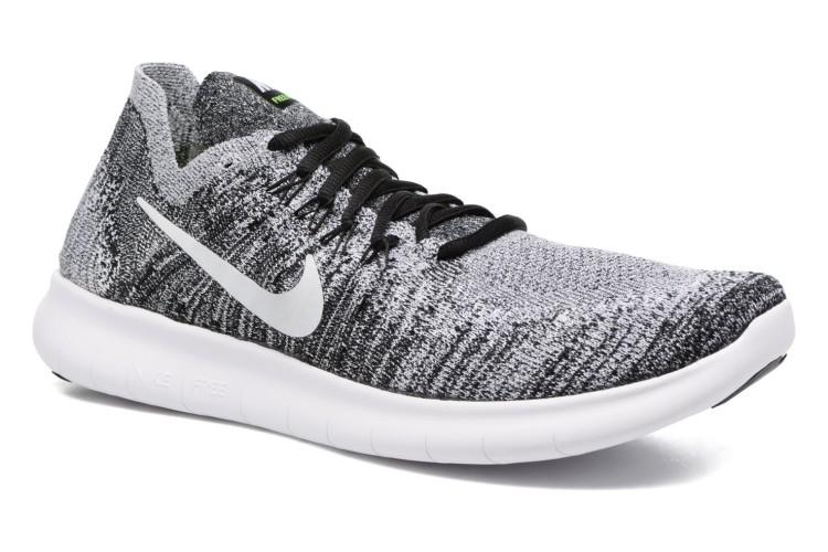Nike Nike Free Rn Flyknit 2017 SpringSummer Textile Black Men39s Shoes Sport shoes AT25746