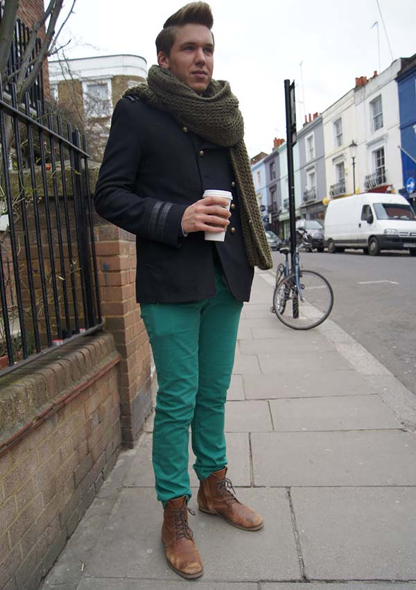 Один из многих плюсов зеленного цвета – практичность