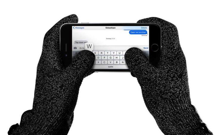 Etip перчатки позволяют свободно взаимодействовать с мобильными гаджетами