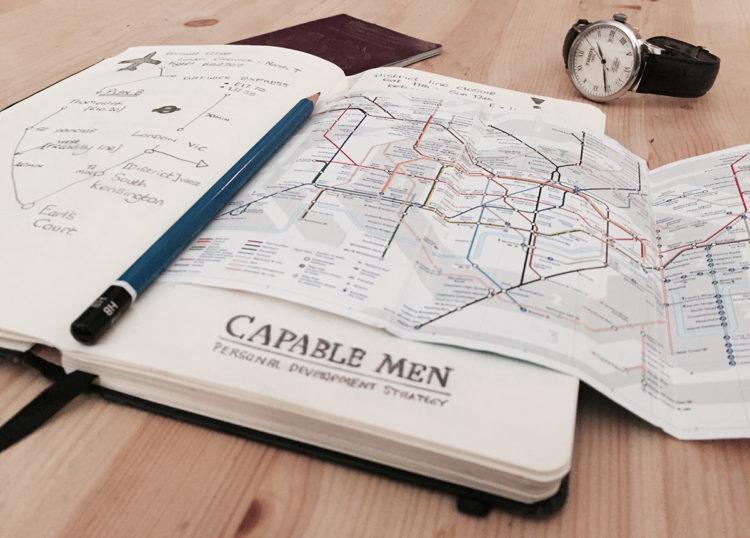Карта с ориентирами поможет вам не затеряться в чужом городе