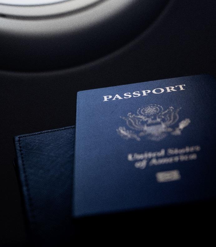 Не забудьте документы, удостоверяющие вашу личность во время подготовки к поездке