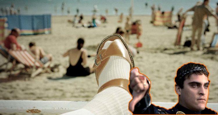 Носки и сандалии в комплекте – дизлайк