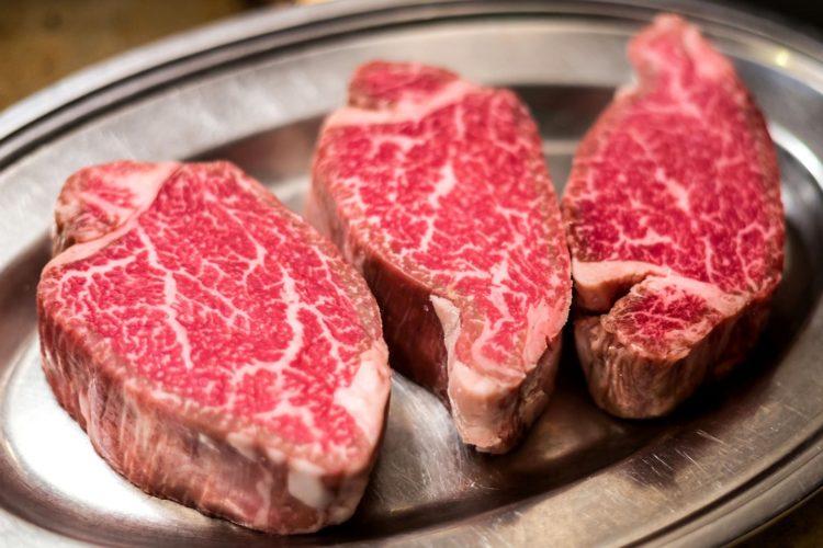 Вот так выглядит мраморность мяса