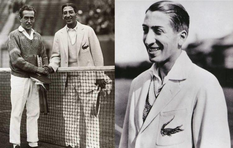 Рене Лакост французская теннисная икона стиля