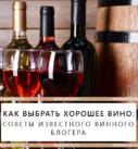 Как выбрать хорошее вино: советы известного винного блогера
