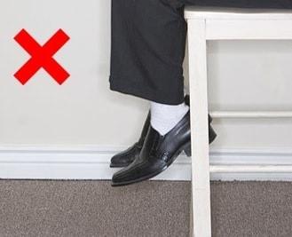 Не одевать белые носки