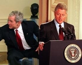 Красный галстук на президентах США