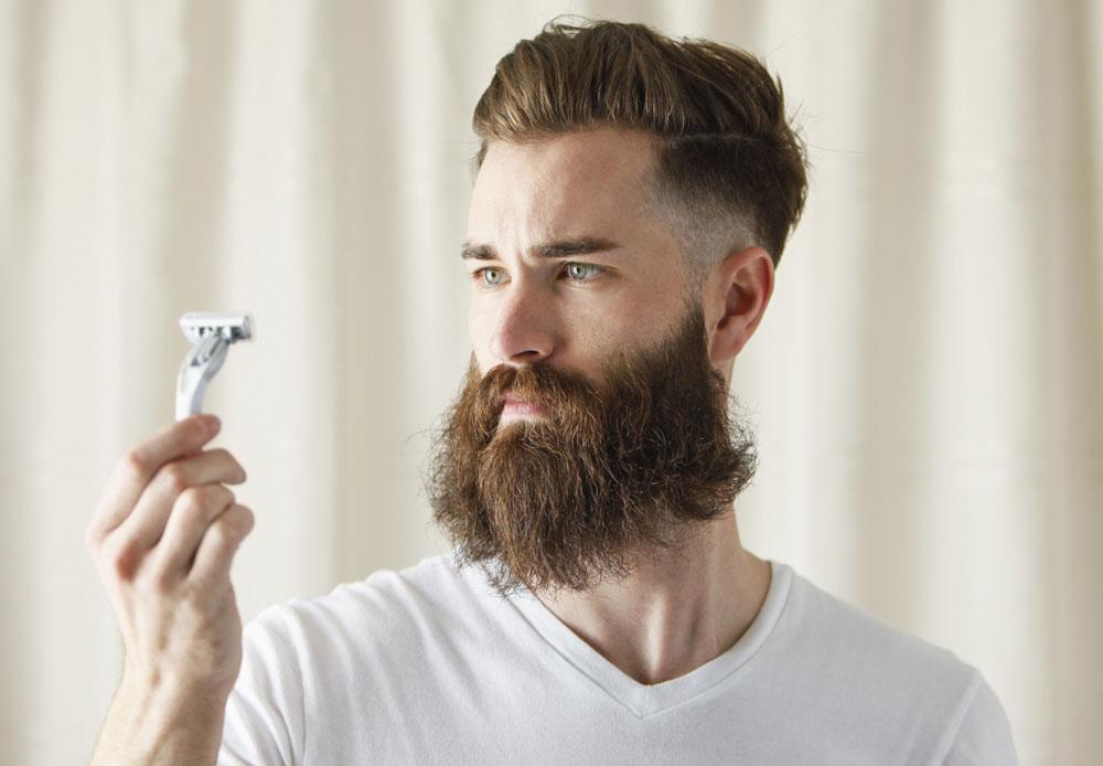 белая борода в 20 лет