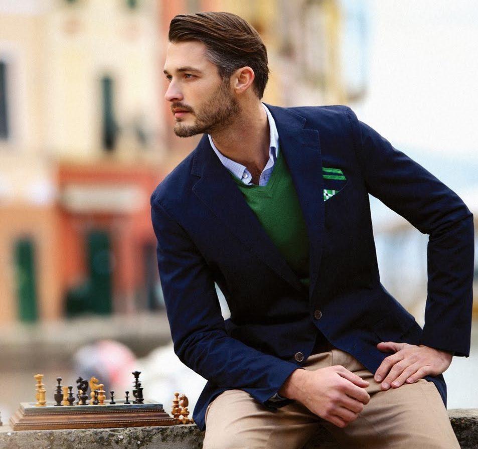Гардероб стильного мужчины, пиджак