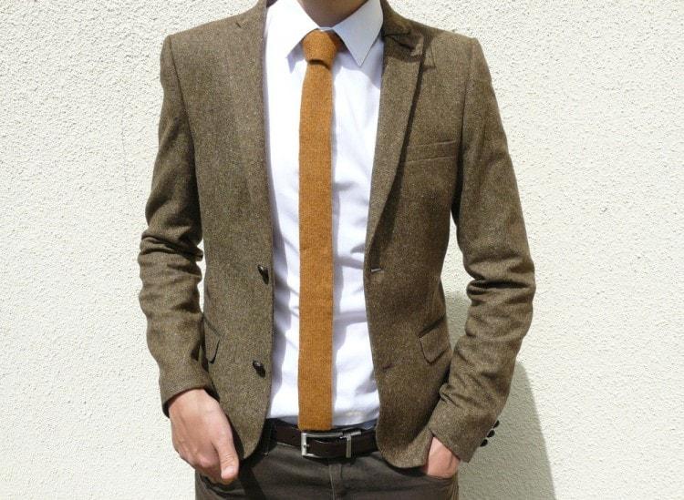 Отдавайте предпочтение тонким галстукам