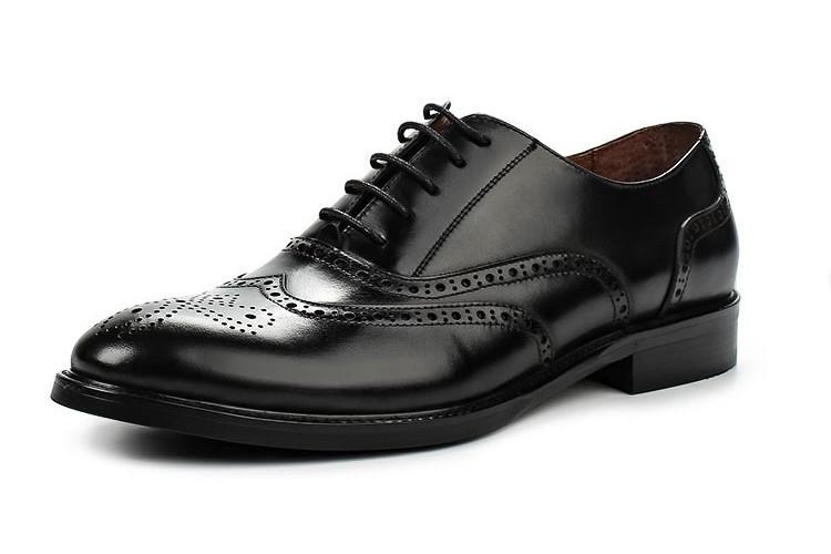 Туфли черные Valor Wolf